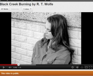 Click on the picture to view the Black Creek Burning book trailer.